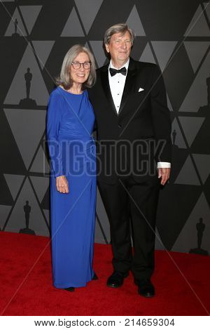 LOS ANGELES - NOV 11:  Carol Littleton, John Bailey_ at the AMPAS 9th Annual Governors Awards at Dolby Ballroom on November 11, 2017 in Los Angeles, CA