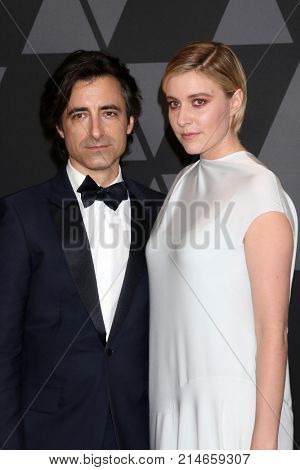 LOS ANGELES - NOV 11:  Guest, Greta Gerwig at the AMPAS 9th Annual Governors Awards at Dolby Ballroom on November 11, 2017 in Los Angeles, CA
