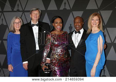 LOS ANGELES - NOV 11:  Carol Littleton, John Bailey, Sheryl Lee Ralph, Charles Burnett, Dawn Hudson_ at the AMPAS 9th Annual Governors Awards at Dolby Ballroom on November 11, 2017 in Los Angeles, CA