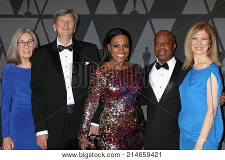LOS ANGELES - NOV 11:  Carol Littleton, John Bailey, Sheryl Lee Ralph, Charles Burnett, Dawn Hudson_ at the AMPAS 9th Annual Governors Awards at Dolby Ballroom on November 11, 2017 in Los Angeles, CA