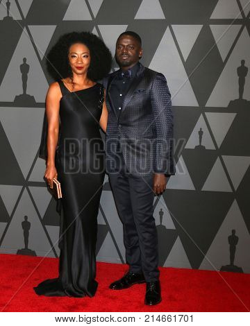 LOS ANGELES - NOV 11:  Betty Gabriel, Daniel Kaluuya_ at the AMPAS 9th Annual Governors Awards at Dolby Ballroom on November 11, 2017 in Los Angeles, CA