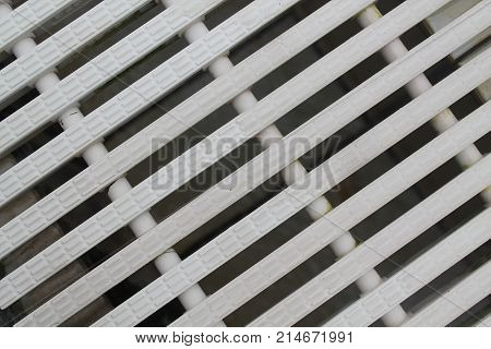 Abstract background White color Modern plastic Dashed lines textured pattern striped diagonal