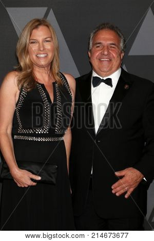 LOS ANGELES - NOV 11:  Mimi Gianopulos, Jim Gianopulos at the AMPAS 9th Annual Governors Awards at Dolby Ballroom on November 11, 2017 in Los Angeles, CA