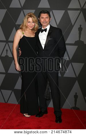 LOS ANGELES - NOV 11:  Yvonne Boismier Phillips, Lou Diamond Phillips at the AMPAS 9th Annual Governors Awards at Dolby Ballroom on November 11, 2017 in Los Angeles, CA