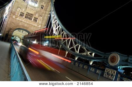 Traffic At Tower Bridge