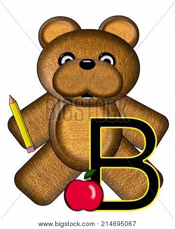 Bear Alphabet Lesson B