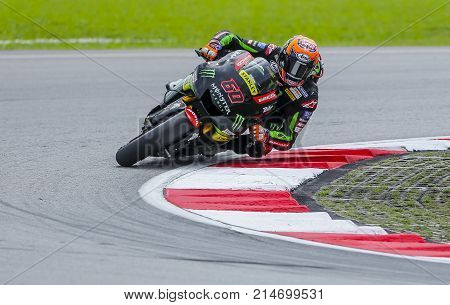 Michael Van Der Mark Of Netherlands And Monster Yamaha Tech 3