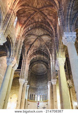 Chiesa Del Sacro Cuore Di Gesu Of Gallipoli. Puglia, Italy.