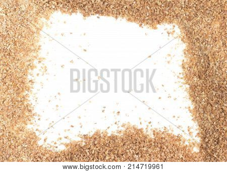 Ground Wheat For A Kibbeh Frame / Trigo Para Quibe.