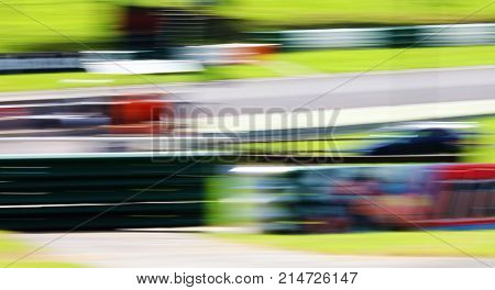 Abstract speed blur