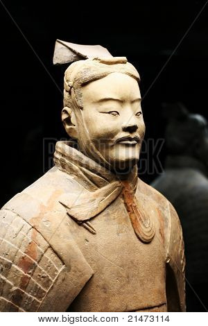 Terracotta Warrior Statue (Archer)