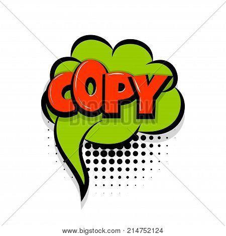 Copy, Paste Comic Vector & Photo (Free Trial)   Bigstock