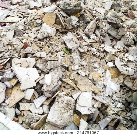rubble and bulky waste