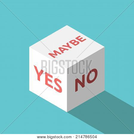 Yes, No, Maybe Cube