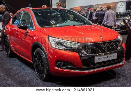 Citroen Ds4 Crossback Car