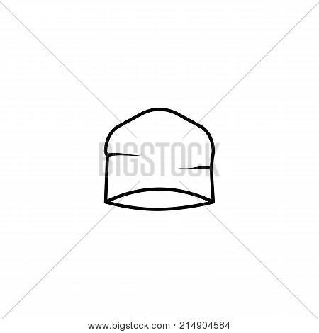 sport Beanie Hat Icon on white background