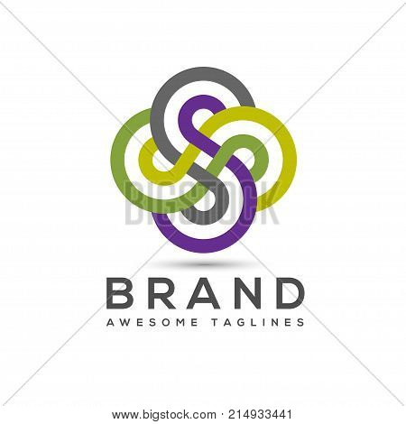 abstract Letter S logo design template elements. abstract letter S.Business corporate letter S logo design vector. Simple and clean flat design of letter S logo vector template.