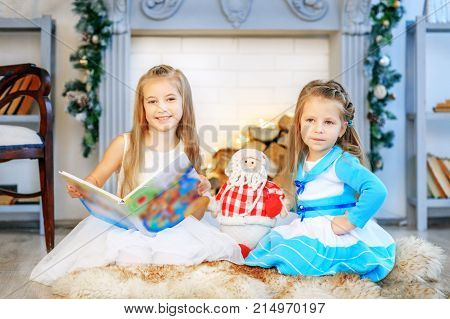 Little Girls Are Reading. How To Instill A Love Of Reading. Conc