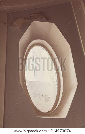Unusual Oval Window