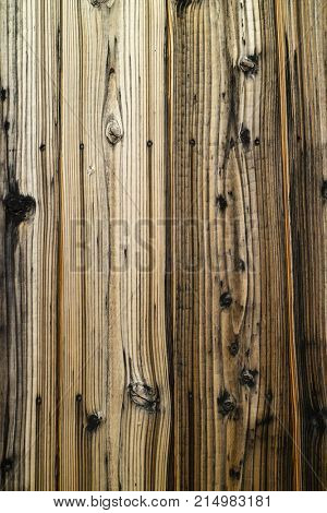 Weathered old wooden structure full frame