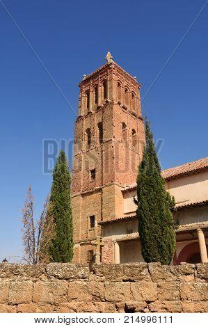 Santo Tomas church in Villanueva del Campo Tierra de Campos Region Zamora province Castilla y Leon Spain