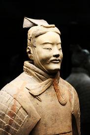 Terracotta Warrior Statue (Archer)