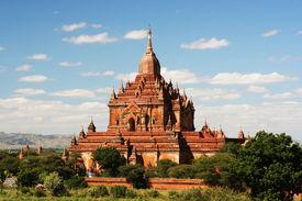 Ancient paya in Bagan (Myanmar)