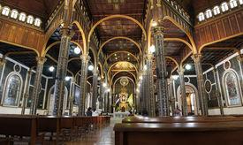 Basilica de Nuestra Senora de los Angeles in Cartago, Costa Rica