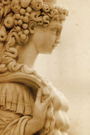 Sculpture from Piazza Senioria in Florence (Italy)