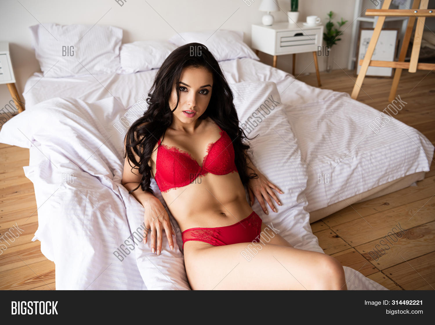 Girl sexy bed The Best