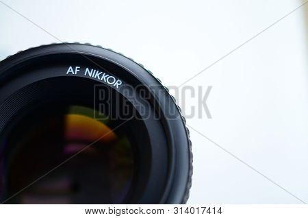Nikon Af Nikkor 50mm 1.4d Photographic Lens Close Up