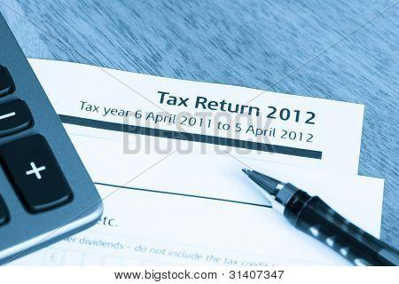 Tax Return Form 2012