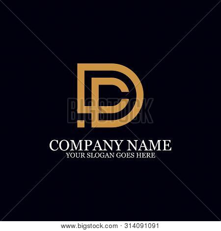Letter Dc Monogram Logo Inspiration, Great For Logo Marks, Clean And Clever Logo Templates, Initial