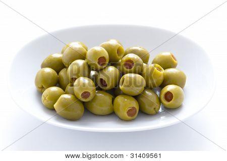 Pimento Stuffed Green Olives