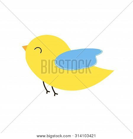Bird Icon. Vector Illustration. For Web And Print Used