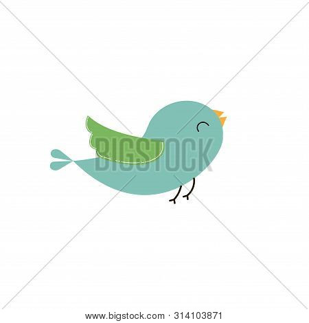 Bird Icon. Vector Illustration. For Web Adn Print Used