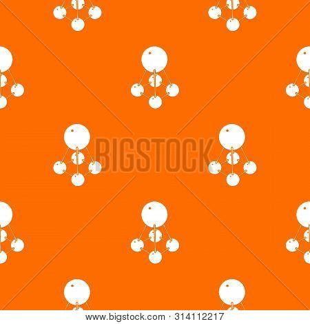 Nitromethane Pattern Vector Orange For Any Web Design Best