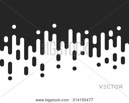 Line Transition Pattern Background, Abstract Irregular Geometric Texture, Vector Creative Digital De