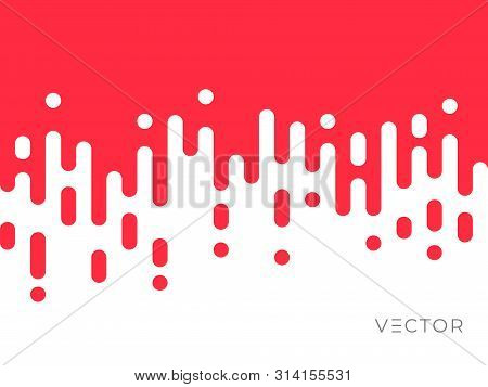 Transition Line Pattern Background, Abstract Irregular Geometric Creative Digital Graphic Design. Ve