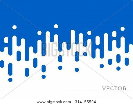 Line Transition Pattern Background, Abstract Irregular Geometric Texture, Vector Creative Digital Gr