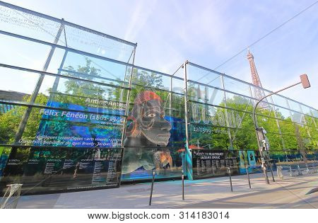 Paris France - May 23, 2019: Museum Of Quai Branly Paris France