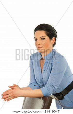 Serious Executive Woman