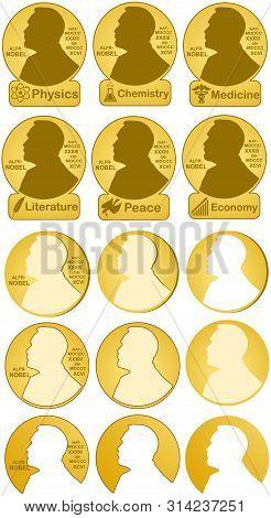 Nobel Prizes In Physics, Chemistry, Medicine, Literature, Economic, Peace.