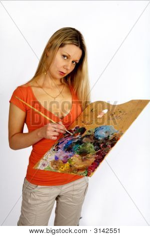 Long Hair Artist