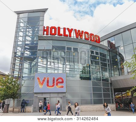 London / Uk - June 15th 2019 - Hollywood Green Vue Cinema, In Wood Green In The Borough Of Haringey