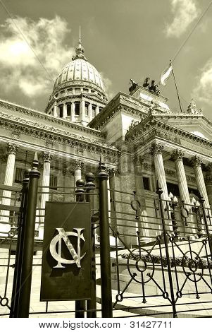 Argentine Congress in Buenos Aires Argentina