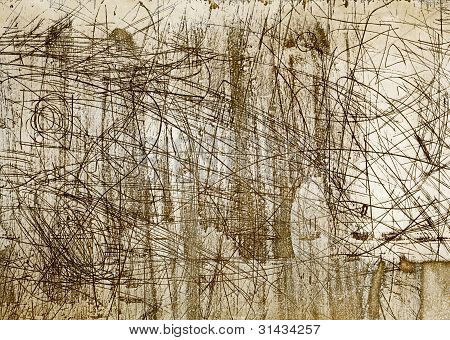Abstract Aged Grunge Background