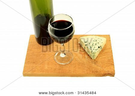Blue Cheese And Wine.