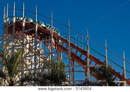 Belmont Park Roller Coaster