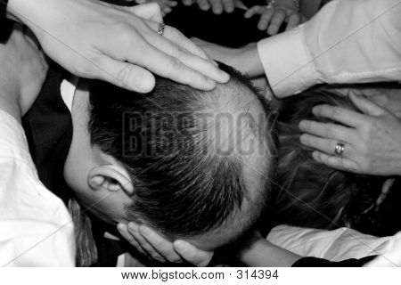Prayer By The Laying Of Hands On The Head